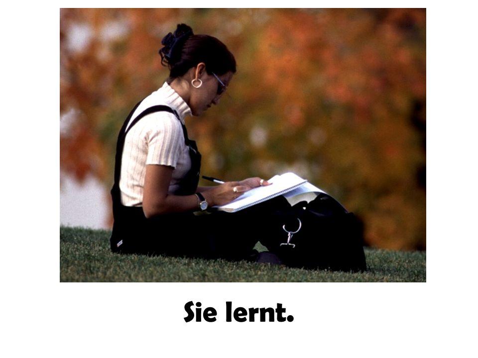 Sie lernt.