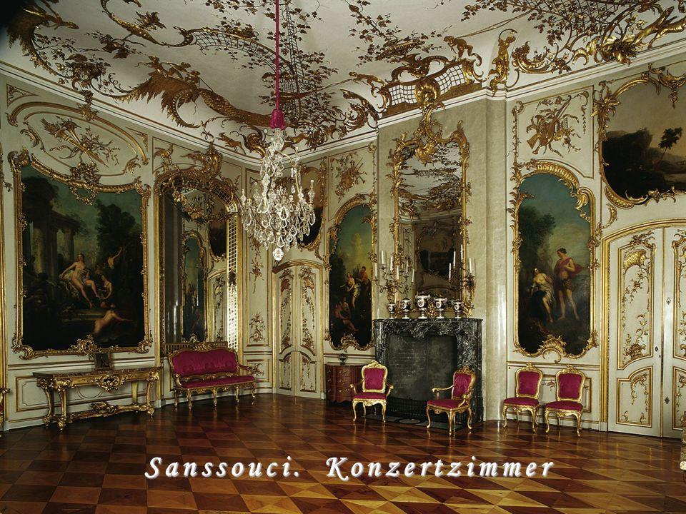 Sanssouci. Konzertzimmer