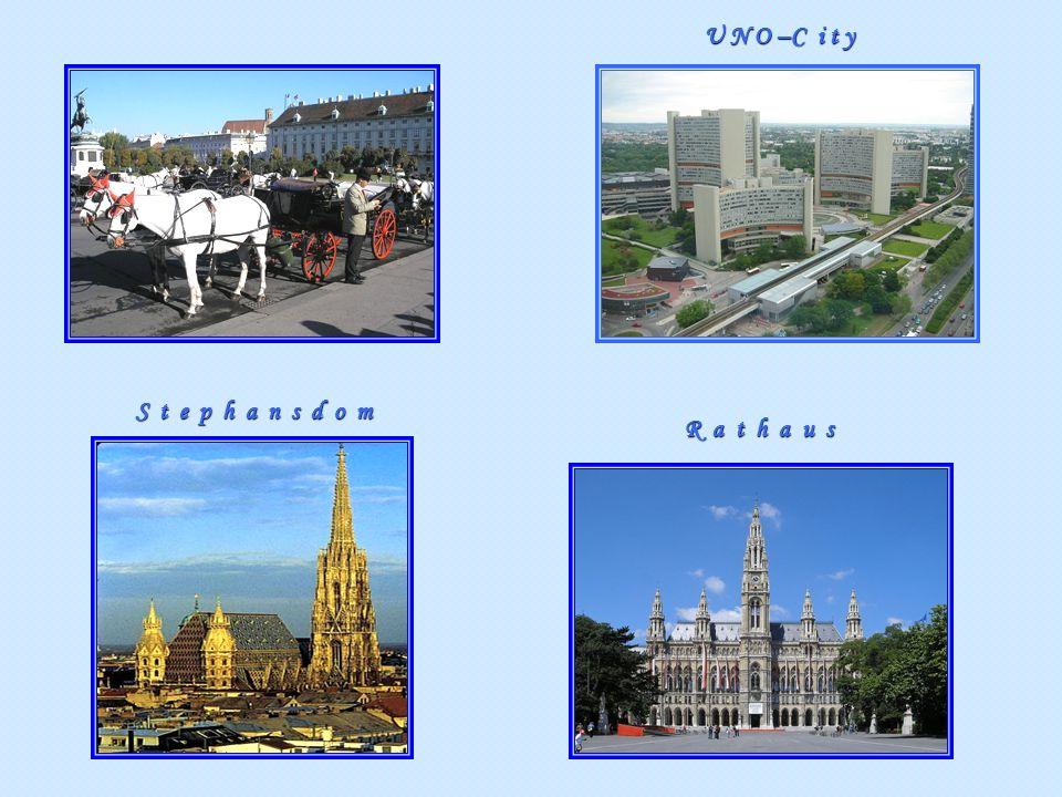 Stephansdom Rathaus U N O –C i t y