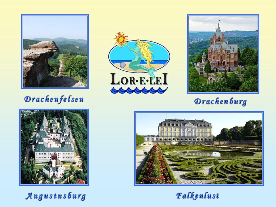 Drachenfelsen Drachenburg AugustusburgFalkenlust