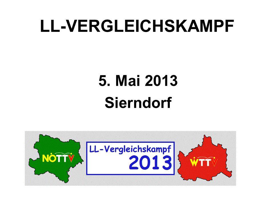 LL-VERGLEICHSKAMPF 5. Mai 2013 Sierndorf