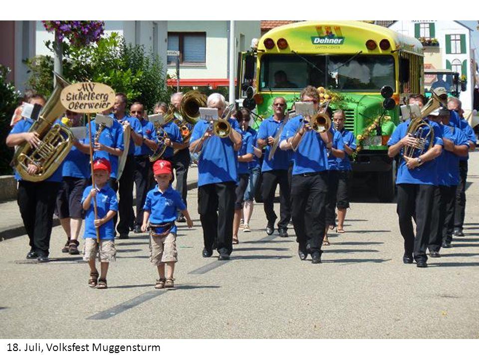 18. Juli, Volksfest Muggensturm