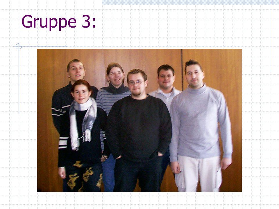Inhalt der Präsentation Vorstellung der Gruppe Projekt Startbrücke Projekt Anzeige Projekt Computergegner Vorführung