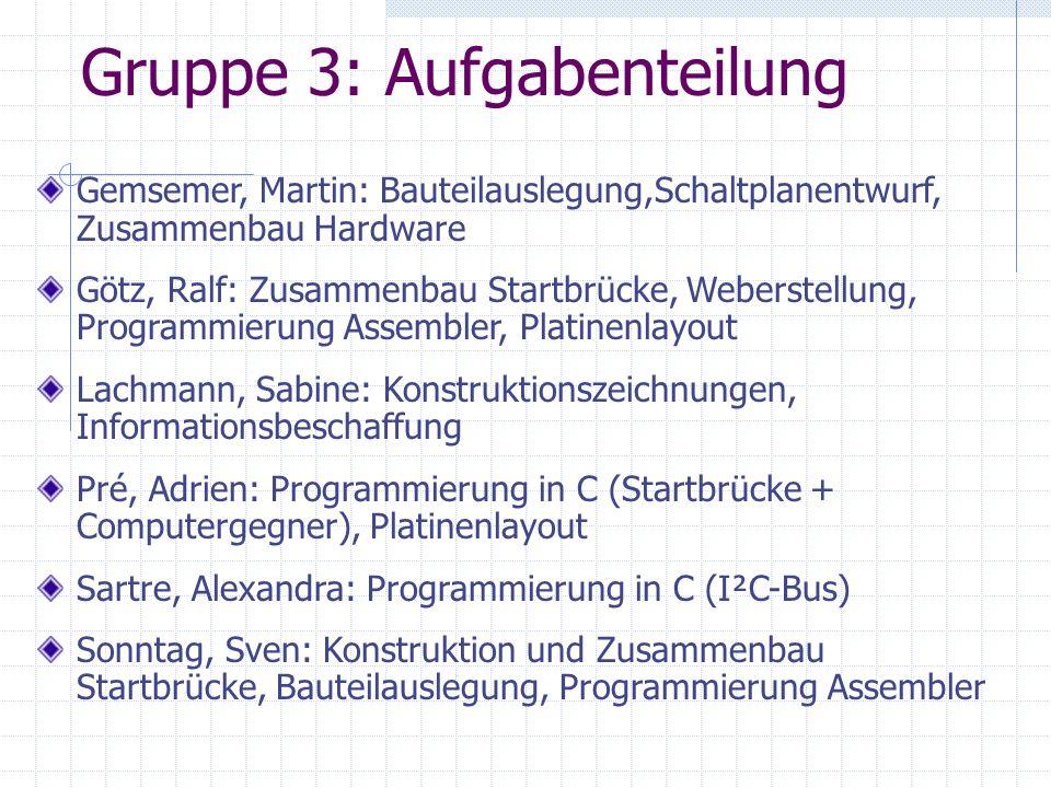 Gruppe 3:
