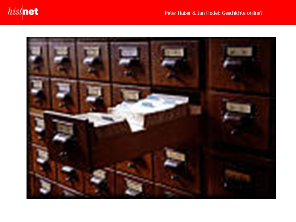 Peter Haber & Jan Hodel: Geschichte online