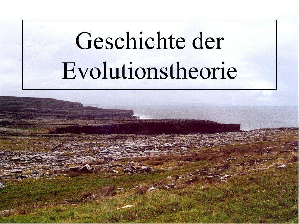 Geschichte der Evolutionstheorie