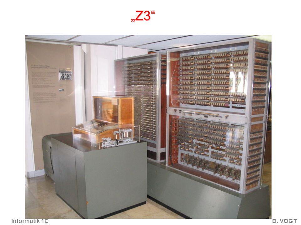 Informatik 1CD. VOGT Z3