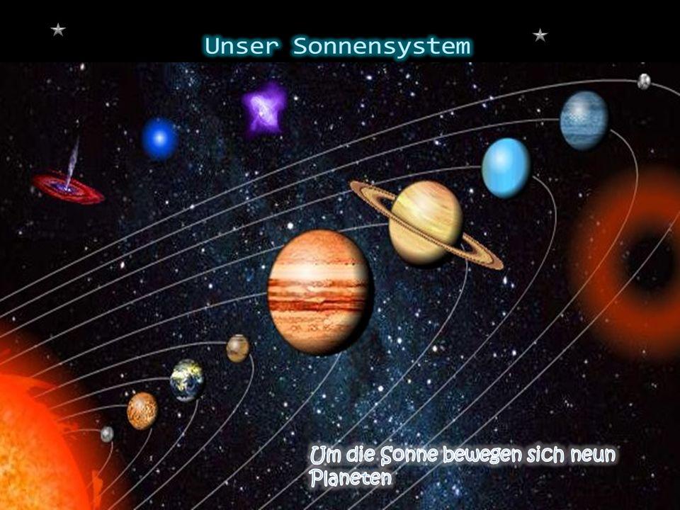 Der Uranus trägt den Namen eines griechischen Gottes.