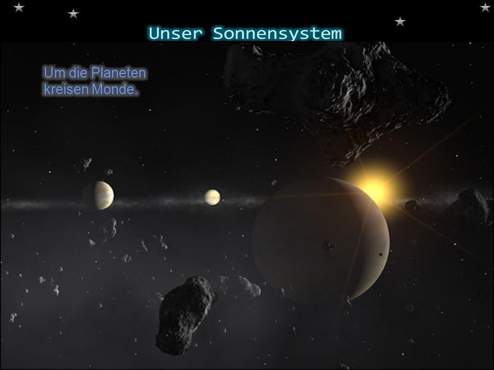 Der Pluto und Charon.Der Pluto trägt den Namen des römischen.