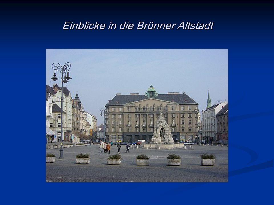 Einblicke in die Brünner Altstadt