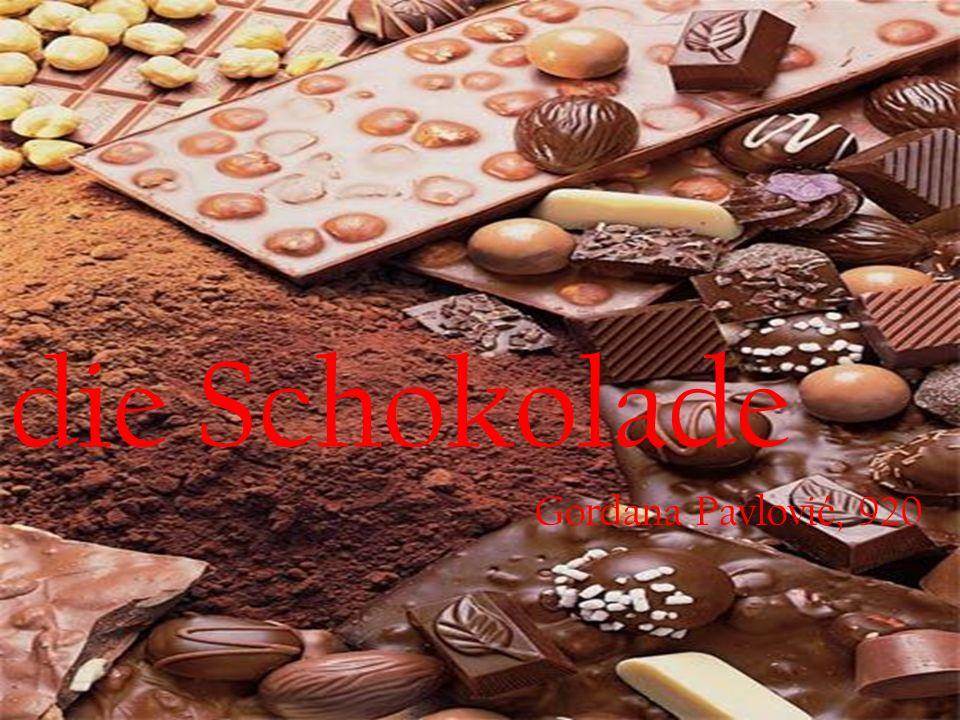 die Schokolade Gordana Pavlovi ć, 920