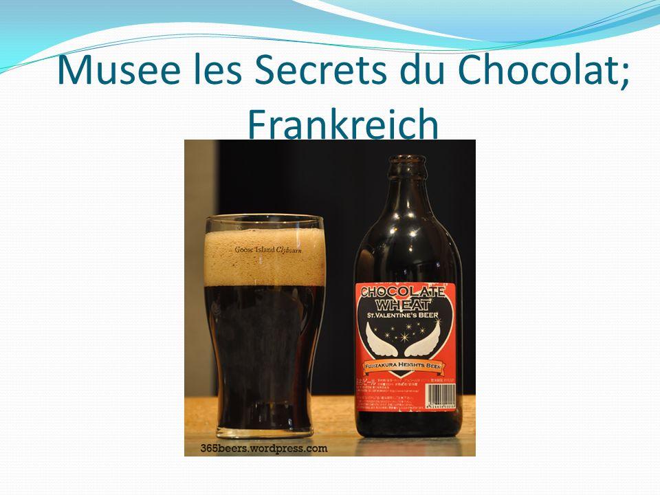 Musee les Secrets du Chocolat; Frankreich
