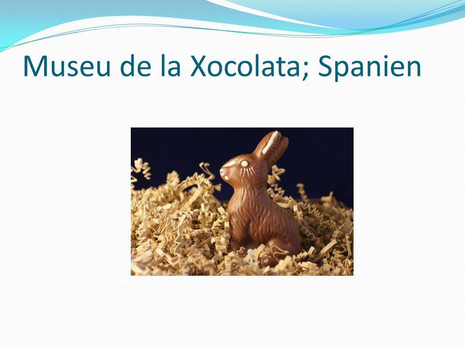Museu de la Xocolata; Spanien