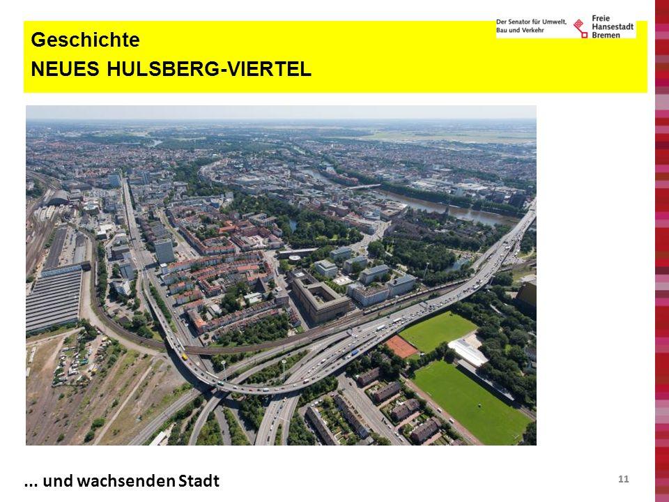 11 Geschichte NEUES HULSBERG-VIERTEL... und wachsenden Stadt