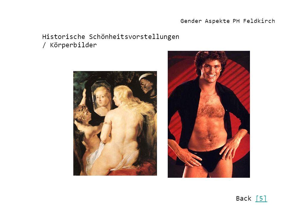 Gender Aspekte PH Feldkirch Historische Schönheitsvorstellungen / Körperbilder Back [5][5]