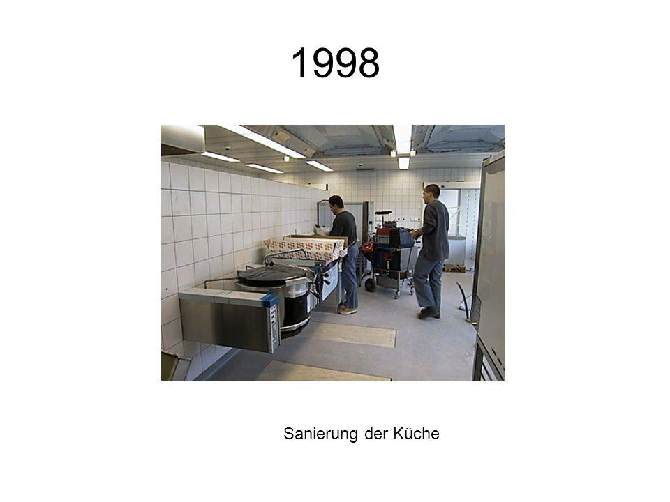 2000 Eröffnung der zweiten Wohngruppe Aufteilung der Gruppen für schwerstdemente Betage und Bewohner mit psychischen Veränderungen