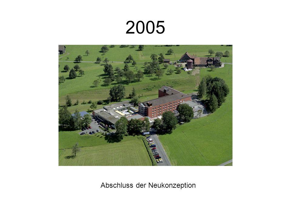 2005 Abschluss der Neukonzeption