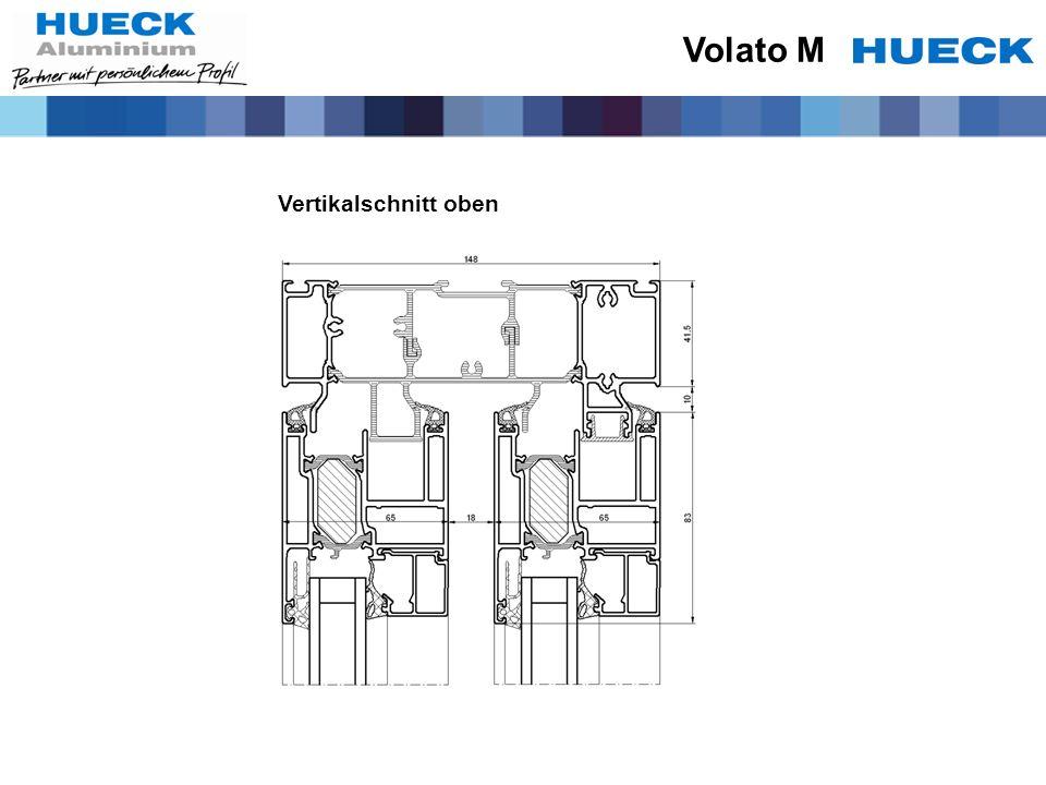 Vertikalschnitt oben Volato M