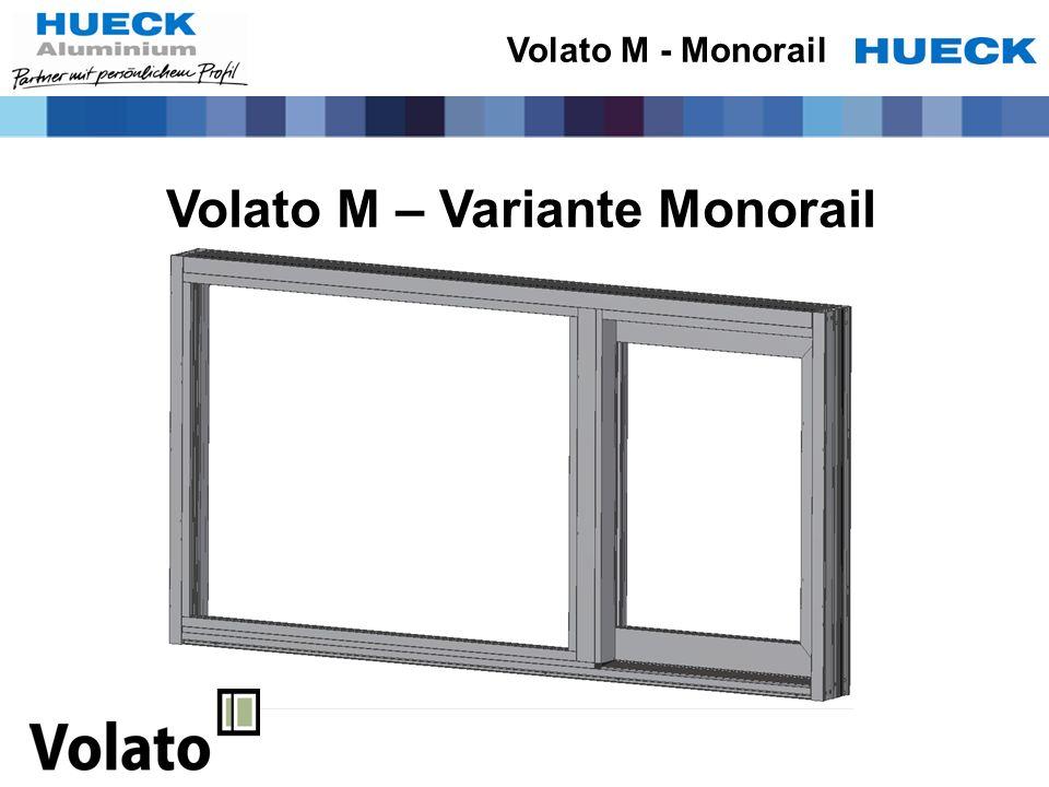 Volato M – Variante Monorail Volato M - Monorail
