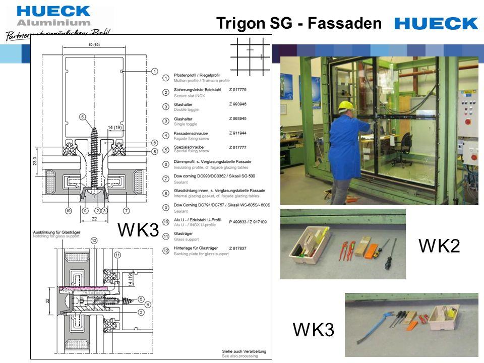 WK2 WK3 Trigon SG - Fassaden