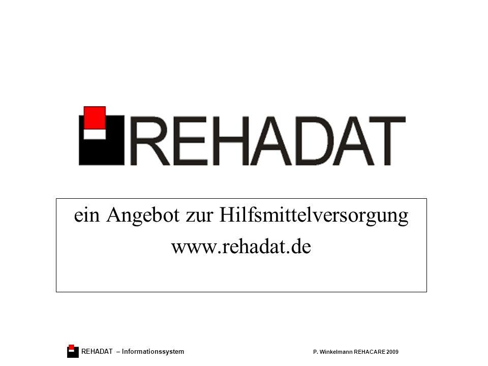 REHADAT – Informationssystem P.