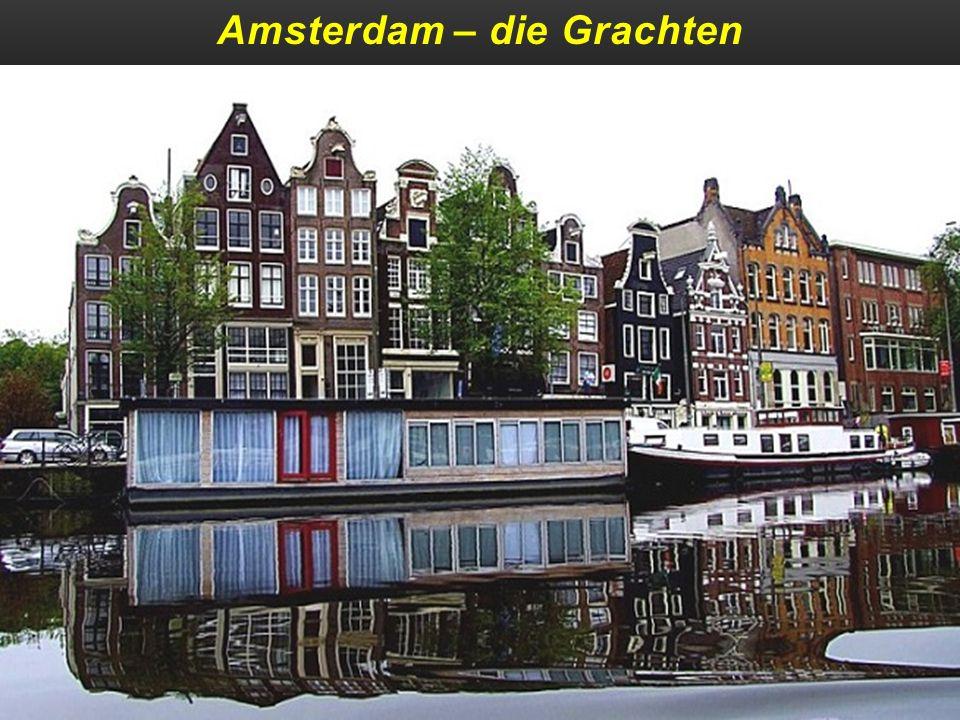 Amsterdam – die Grachten