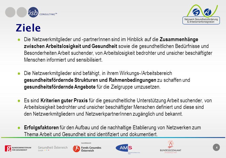 5 Aktivitäten (1) Aufbau von Netzwerkstrukturen (Beitritt, Charta) Netzwerkhomepage (www.nga.or.at )www.nga.or.at Newsletter ngaktuell (5) Netzwerktreffen (6) Laufende Betreuung der Netzwerkmitglieder Öffentlichkeitsarbeit MultiplikatorInnenschulung