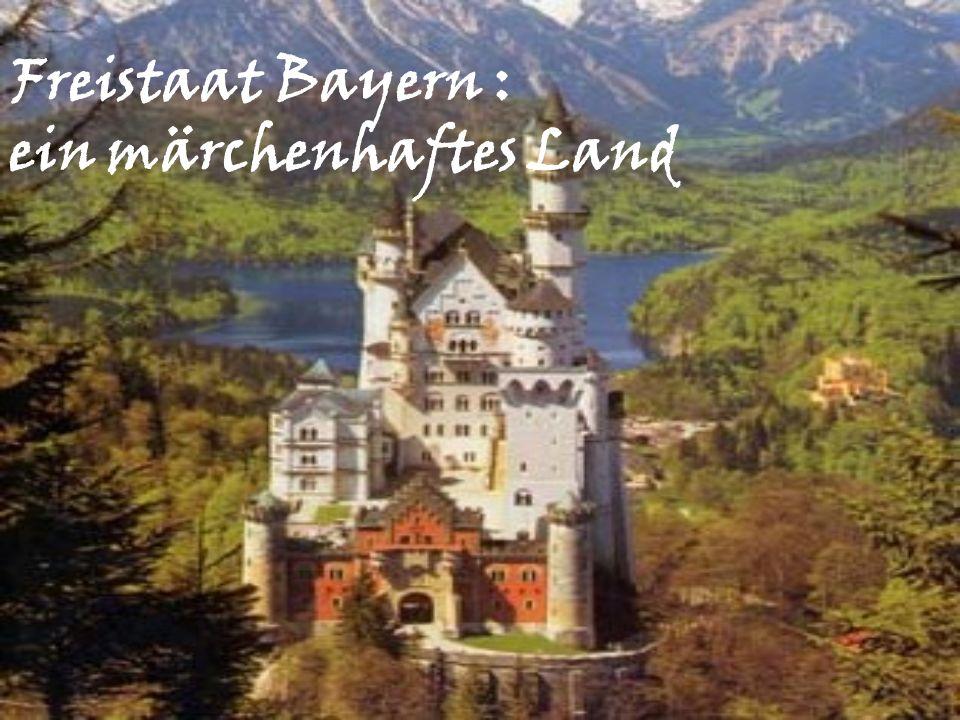 Bayern grenzt: Im Westen an Baden-Württemberg und Hessen Im Osten an Österreich und an die Tschechische Republik Im Norden an Hessen, Thüringen und Sachsen Im Süden an Österreich