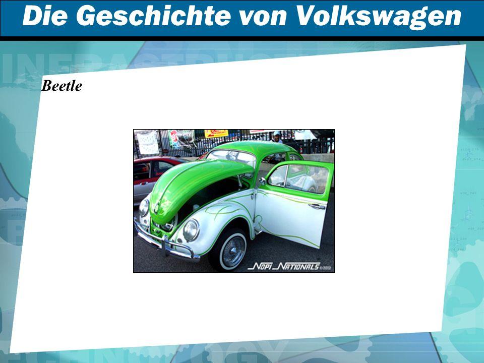 Die Geschichte von Volkswagen Beetle