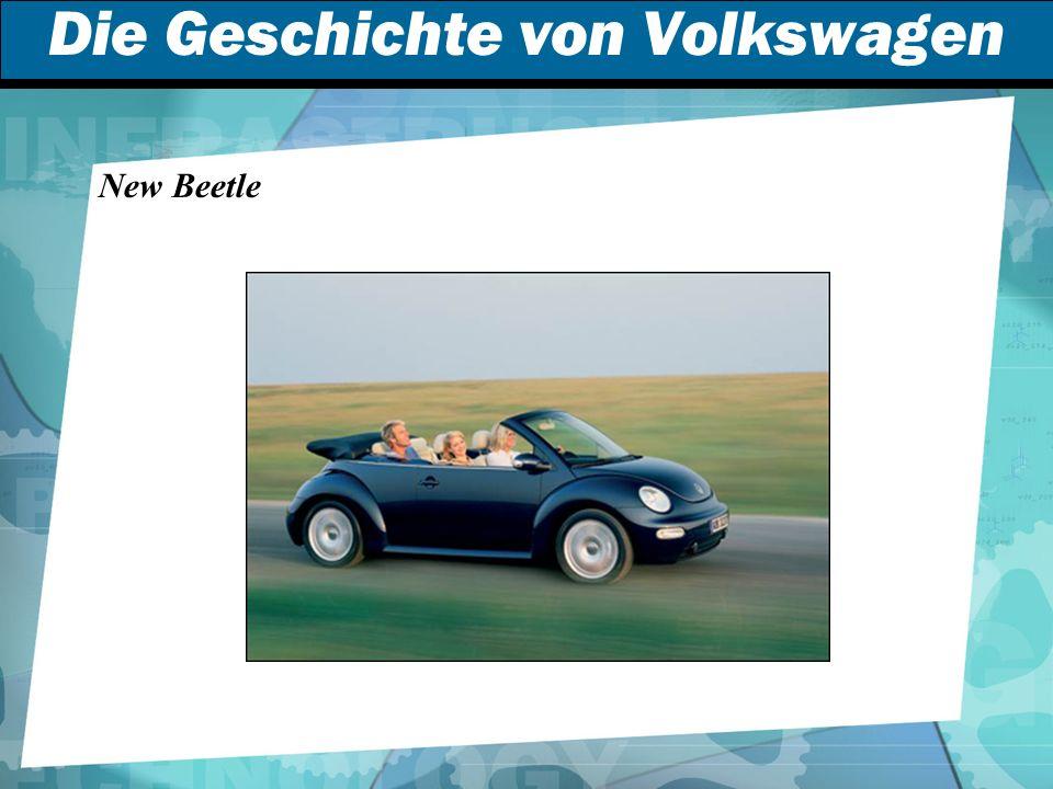 Die Geschichte von Volkswagen New Beetle