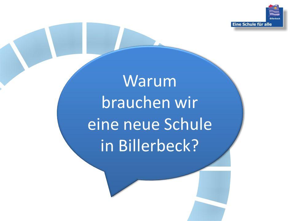 Warum brauchen wir eine neue Schule in Billerbeck?