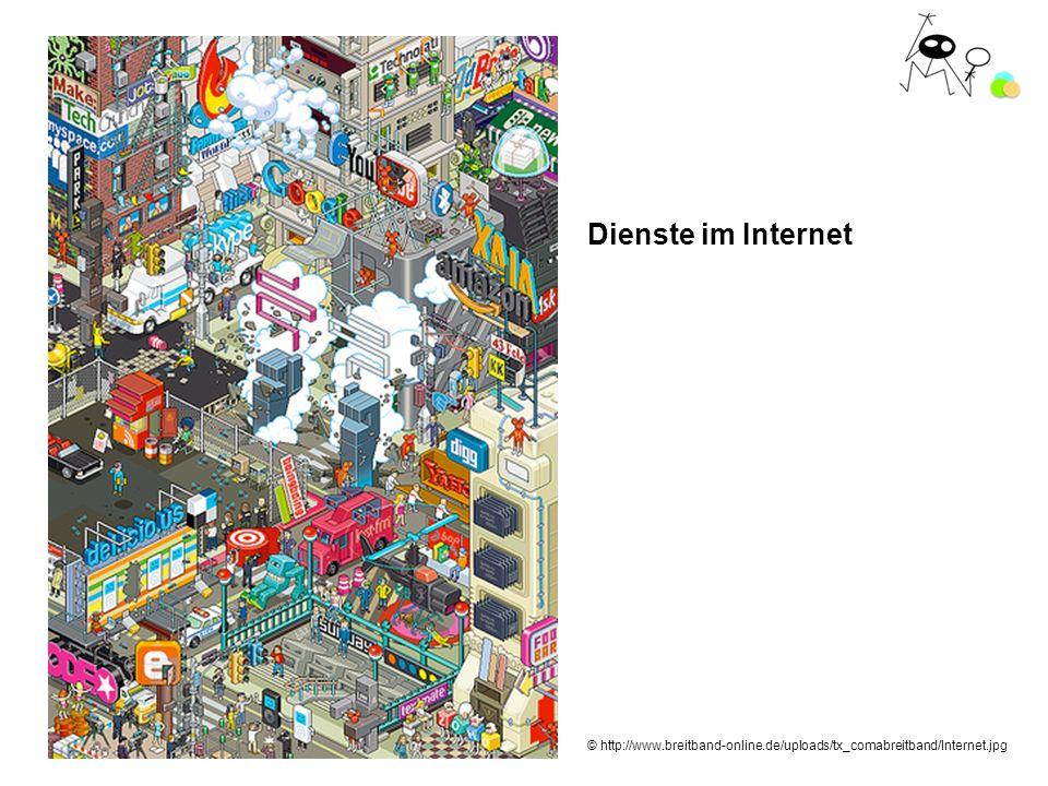 Dienste im Internet © http://www.breitband-online.de/uploads/tx_comabreitband/Internet.jpg