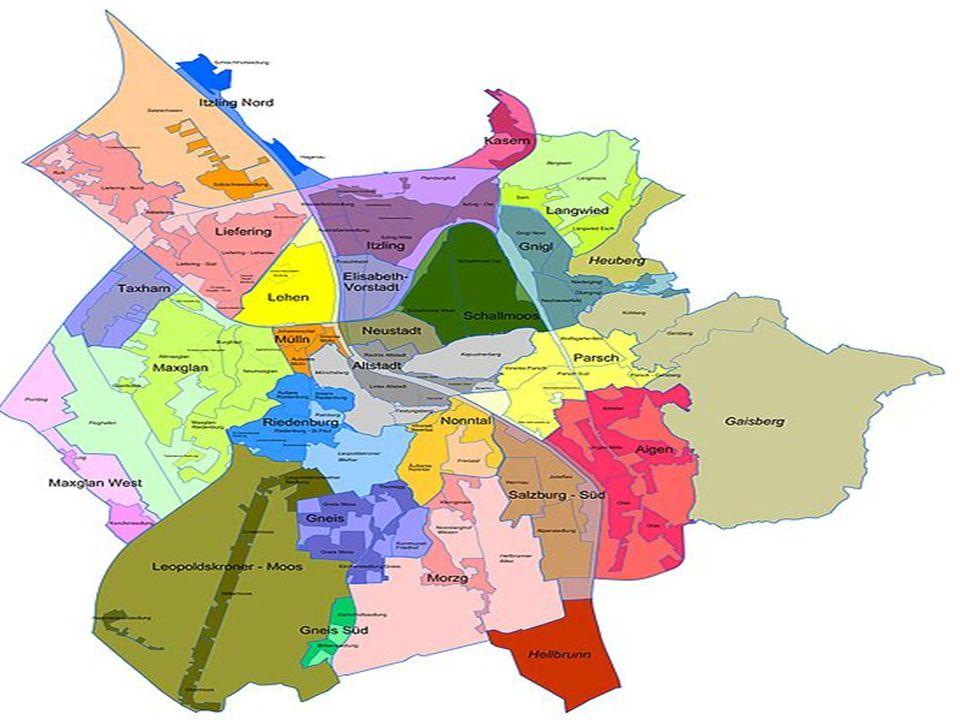 BEVÖLKERUNGSENTWICK LUNG Um das Jahr 1550 hatte die Stadt Salzburg etwa 8.000 Einwohner.