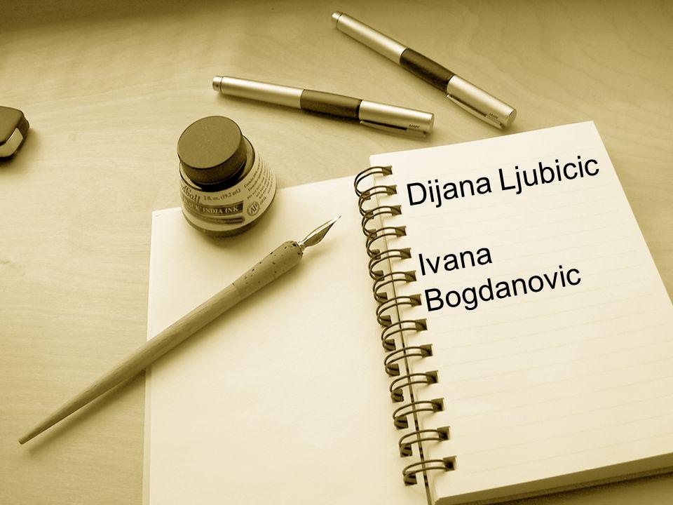 Dijana Ljubicic Ivana Bogdanovic
