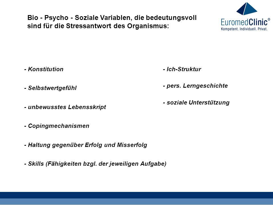 - Konstitution - Skills (Fähigkeiten bzgl.