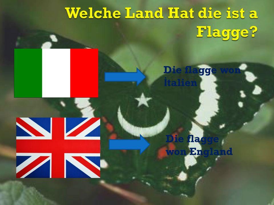 Die flagge won İ talien Die flagge won England