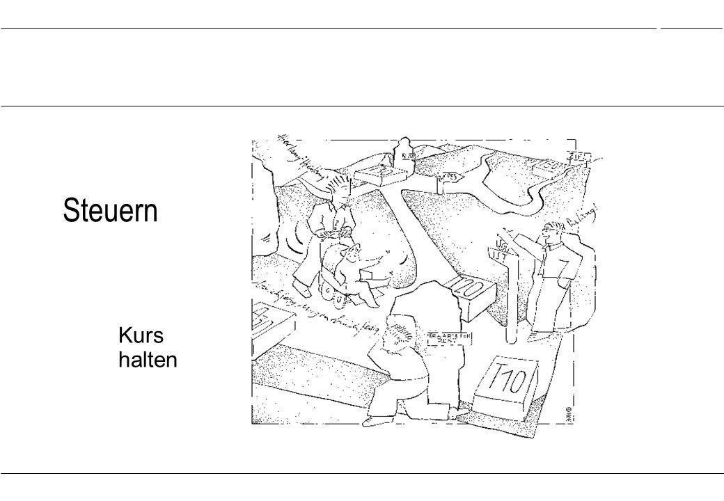 Projektmanagement …\08rk_steu.ppt Folie:1 05.05.1999 Rainer Kröning Steuern Kurs halten