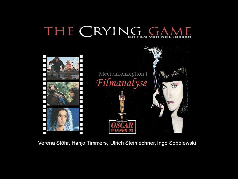 Allgemeine Angaben: -Originaltitel:The Crying Game -Erscheinungsjahr:1992 -Erscheinungsland:Großbritannien -Dauer:112 Minuten -Bildformat:16:9 -Einspielergebnis:ca.