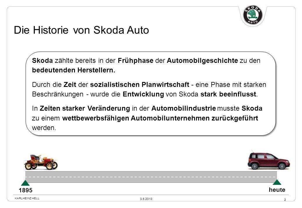 Die Historie von Skoda Auto Skoda zählte bereits in der Frühphase der Automobilgeschichte zu den bedeutenden Herstellern. Durch die Zeit der sozialist