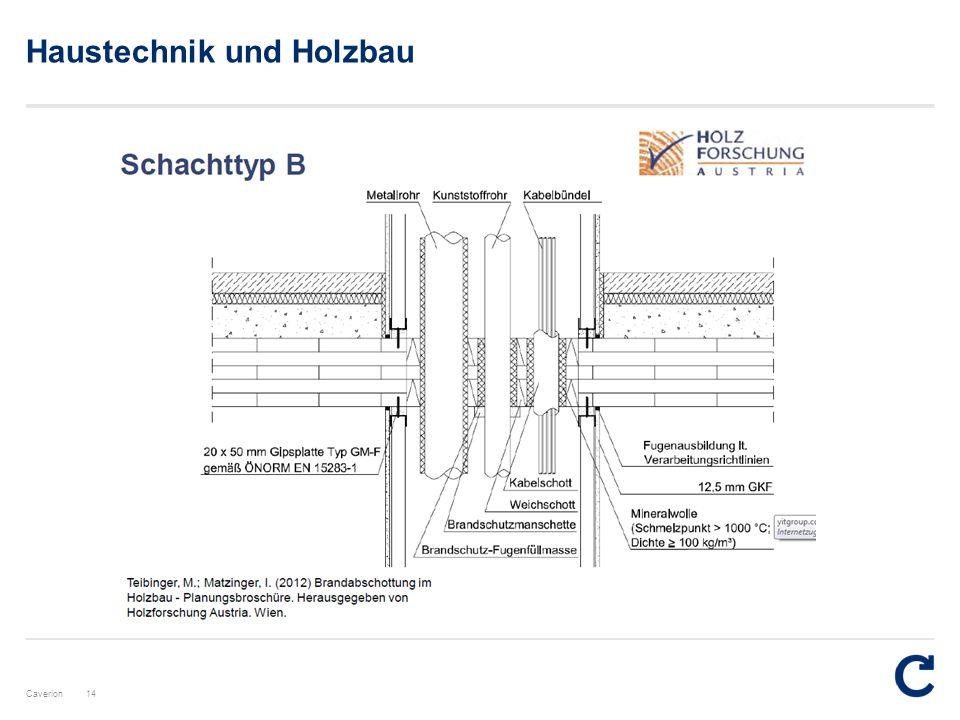 Caverion Haustechnik und Holzbau 14