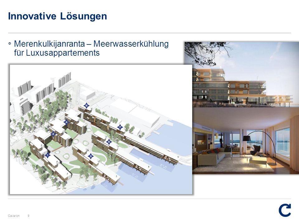 Caverion Innovative Lösungen 9 ° Merenkulkijanranta – Meerwasserkühlung für Luxusappartements