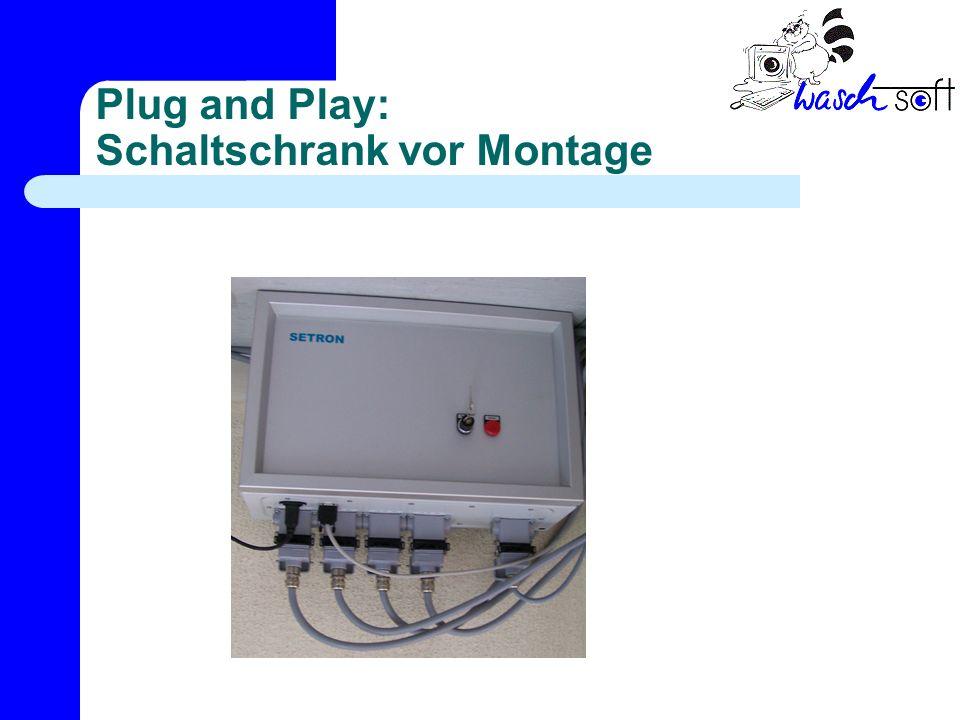 Plug and Play: Schaltschrank vor Montage