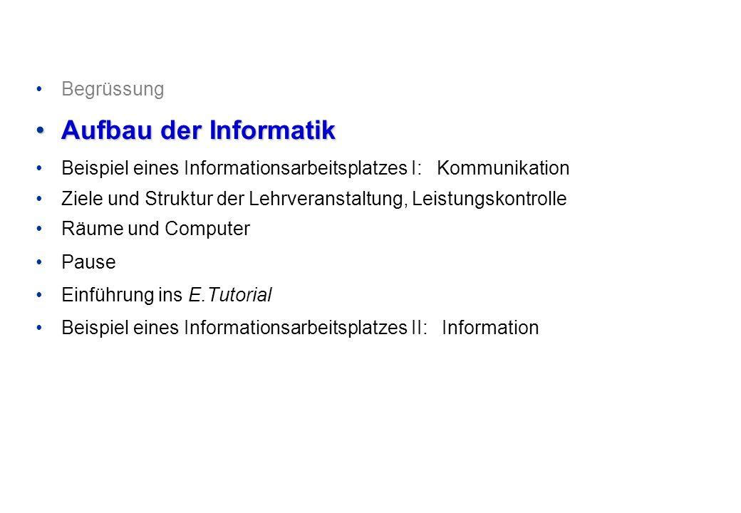 © Departement Informatik, ETH Zürich Voraussetzungen Elementare Fertigkeiten im Umgang mit einem Personalcomputer und dessen Betriebssystem.