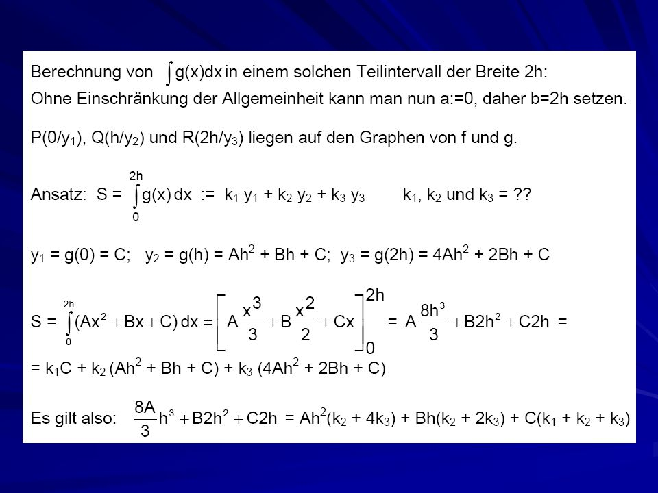 Gauß-Quadratur Gauß-Formel sind interpolatorische Quadraturformeln