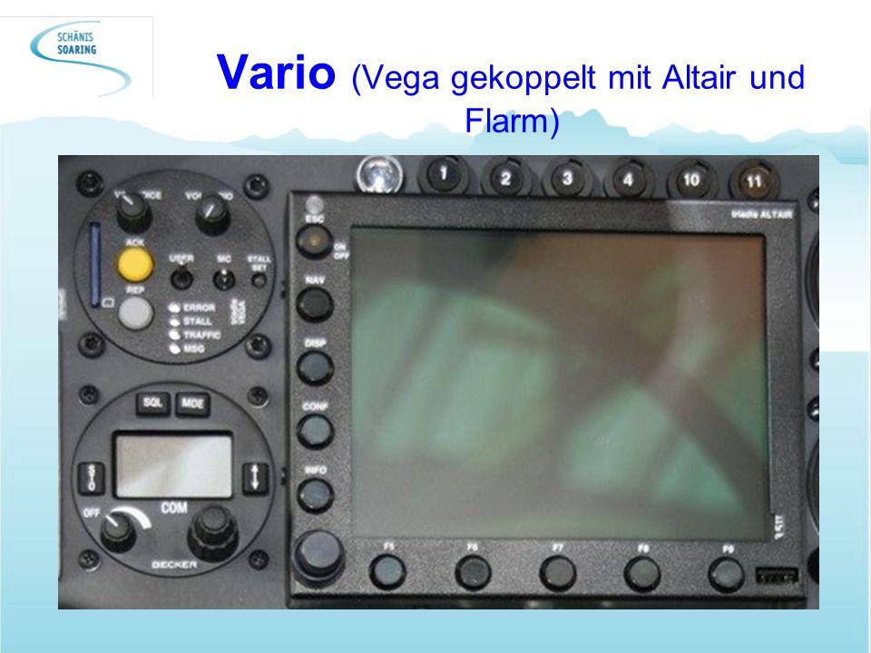 Vario (Vega gekoppelt mit Altair und Flarm)
