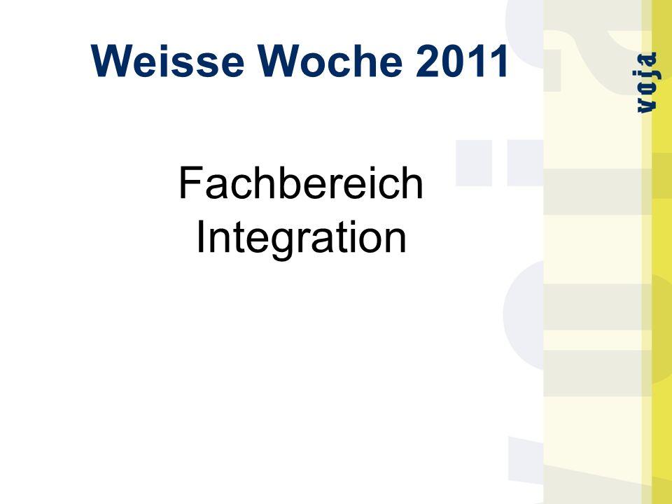 Weisse Woche 2011 Fachbereich Integration