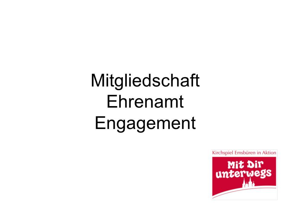 Mitgliedschaft Ehrenamt Engagement