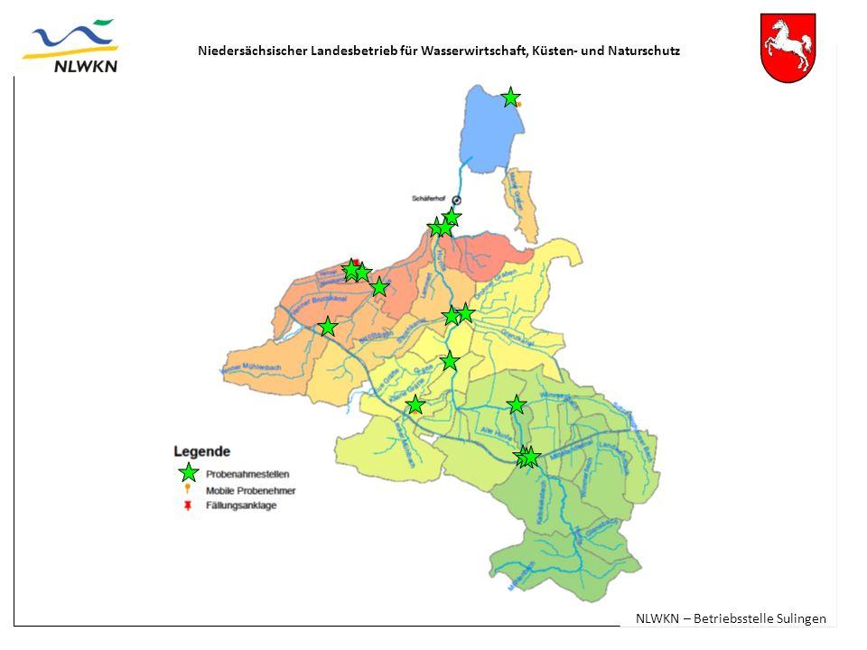 Niedersächsischer Landesbetrieb für Wasserwirtschaft, Küsten- und Naturschutz NLWKN – Betriebsstelle Sulingen
