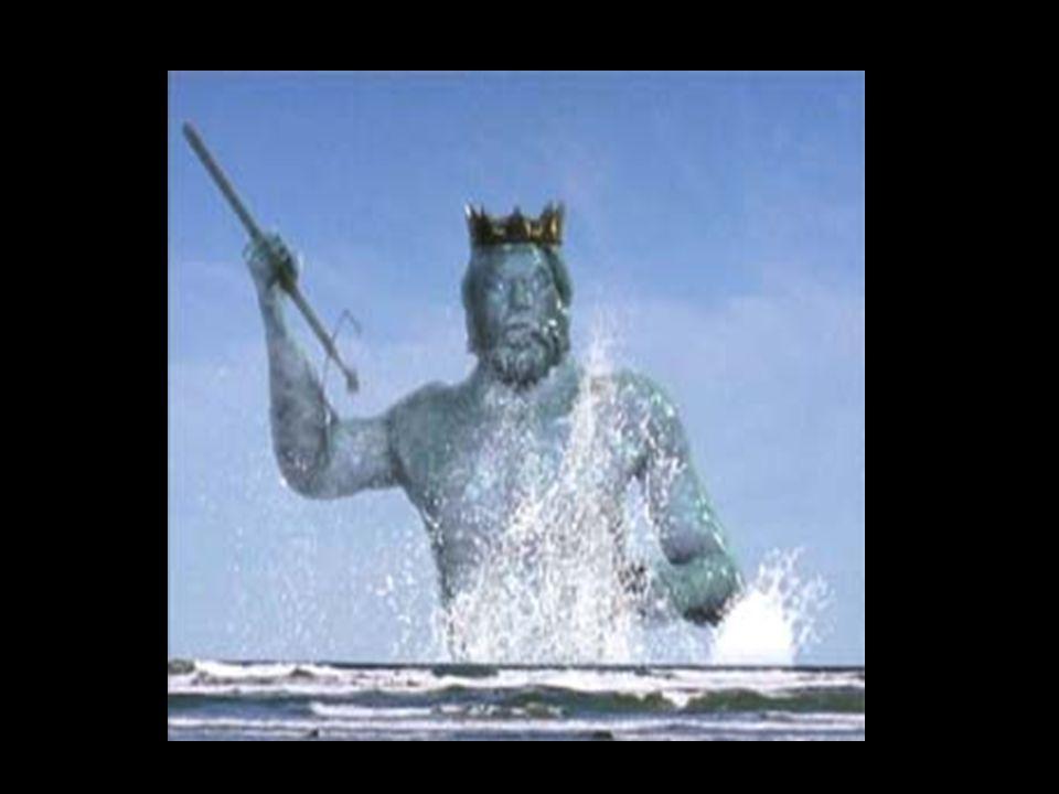 Poseidon verzichtete jedoch nie auf seine zahlreichen Liebschaften mit Nymphen, Göttinnen und Sterblichen.