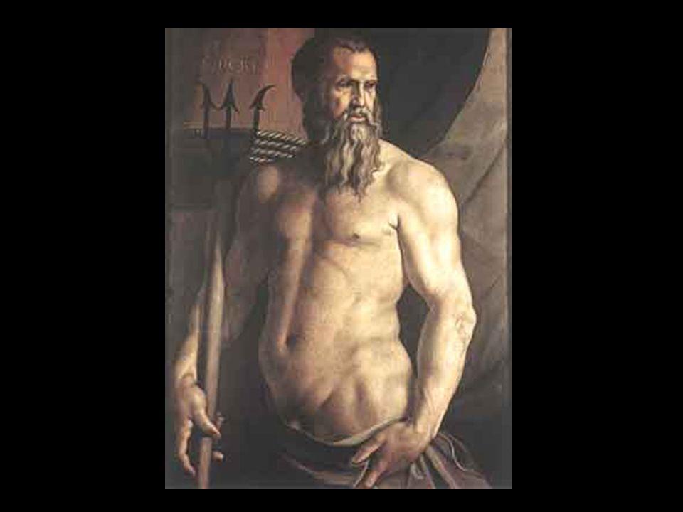 Poseidon ist der griechische Gott des Meeres und aller Gewässer.